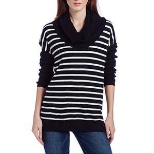 Long-Sleeve Dolman Stripped Sweater